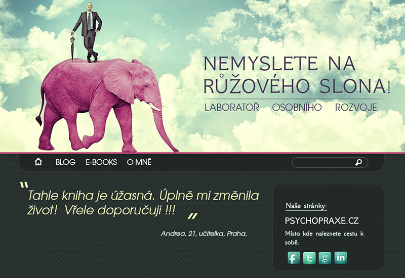 Don´t think of a PINK Elephant