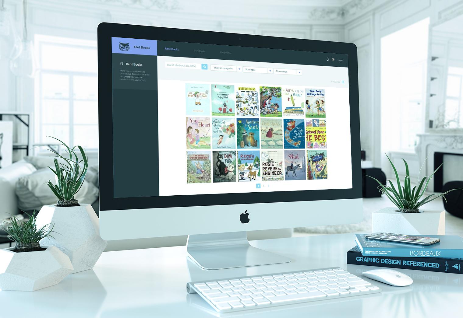 OwlBooks.dk Online Biblioteks App