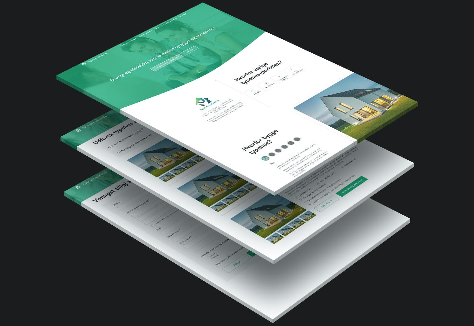 Typehus-portalen.dk Web